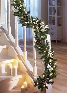 Decoration De Noel Exterieur Lumineuse : guirlande de sapin 20 id es d corer l 39 int rieur et l 39 ext rieur ~ Preciouscoupons.com Idées de Décoration