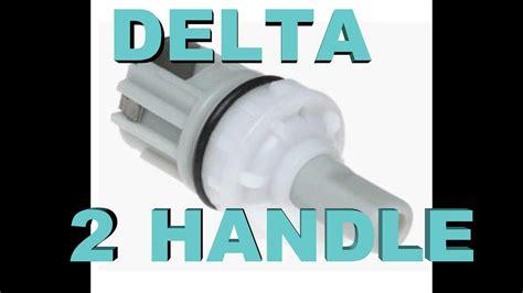 delta  handle bathroom faucet fix  leaks drips