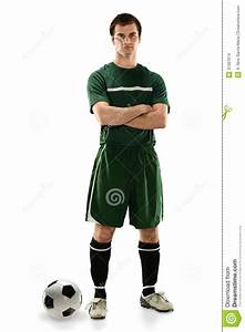 Soccer Player Standing Stock Images - Image: 37387674