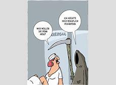 Neuer Job – Karikatur von Thomas Luft – Der Humor zum