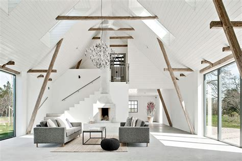 barn  sweden  converted   modern country