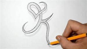Letter K and Heart Combined - Tattoo Design Ideas for ...