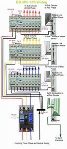House Wiring Diagram 3 Phase