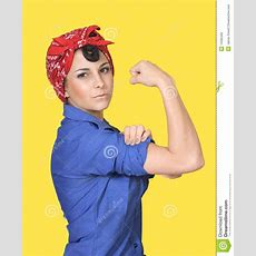 Rosie The Riveter Stock Photo Image Of Retro Power