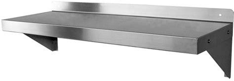 wall mounted metal shelf stainless steel restaurant wallmount shelving