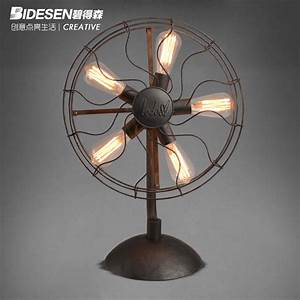 compare prices on vintage table fan online shopping buy With edison fan floor lamp