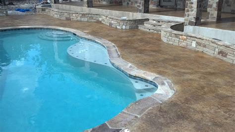 pool deck resurfacing options swimming pool deck surfaces