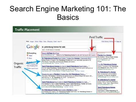 Search Engine Marketing Basics by Search Engine Marketing 101 The Basics