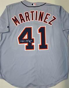 Victor Martinez Autographed Detroit Tigers Road Jersey ...