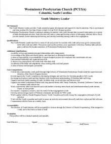 youth pastor resume template mind maps pdf free write