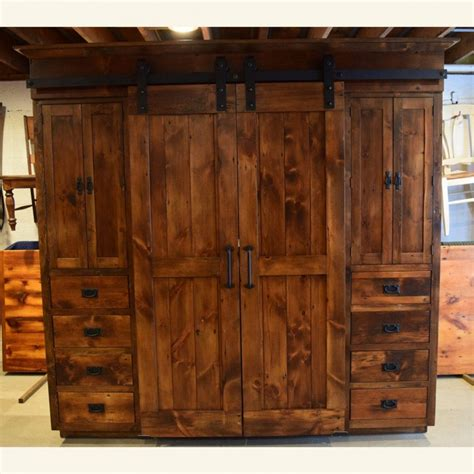 Furniture Cabinets With Doors by Wardrobe Barn Door Entertainment Cabinet Furniture From