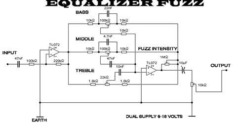 simple 3 band eq schematic