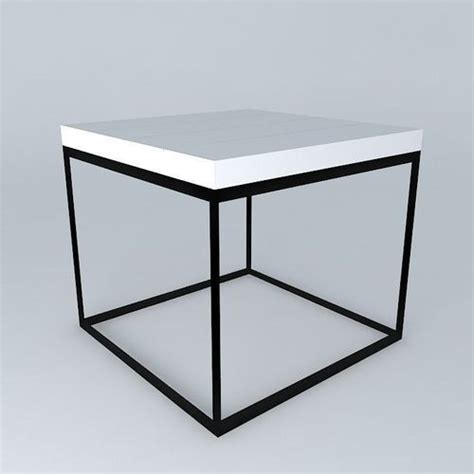 table 60x60 cuisine auxiliary table 60x60 3d model max obj 3ds fbx stl skp