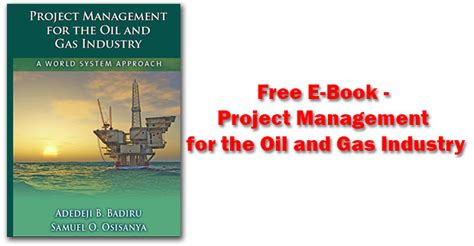 Free E Book Project Management For The Oil And Gas