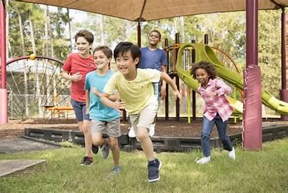 Playground Children Running Cool Istock Ethnic Multi
