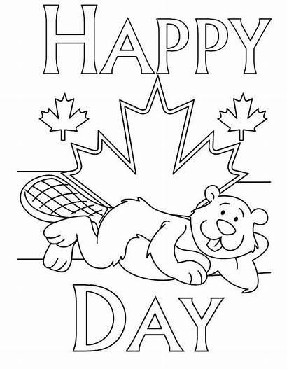 Canada Coloring National Happy Childrens 150 Crafts