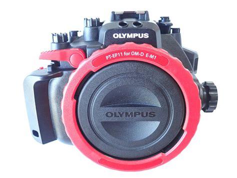 中古水中カメラ機材 オリンパス PT-EP11 防水プロテクター( OM-D E-M1用 ) | 水中カメラ機材と ...