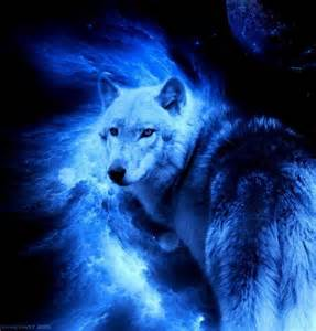 Native American Indians and Wolves