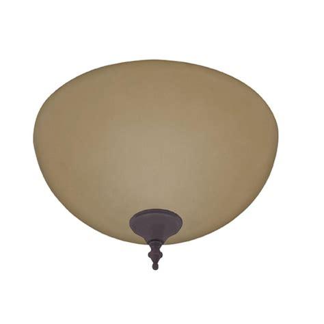 hunter 3 light kit hunter amber builder bowl ceiling fan light kit with