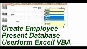 Free Gantt How Can Create Employee Attendance Data Base In Excel