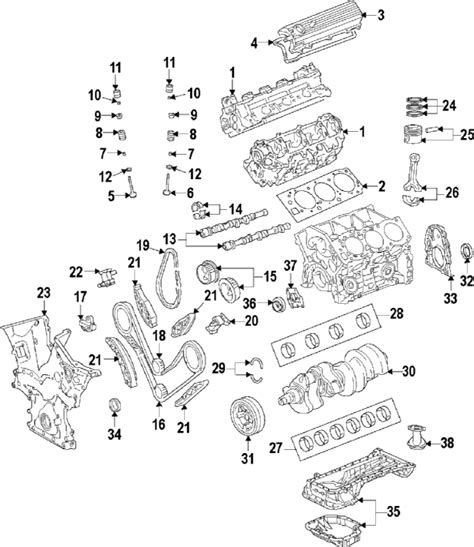 Toyotum Highlander V6 Engine Diagram by Parts 174 Toyota Camry Engine Oem Parts