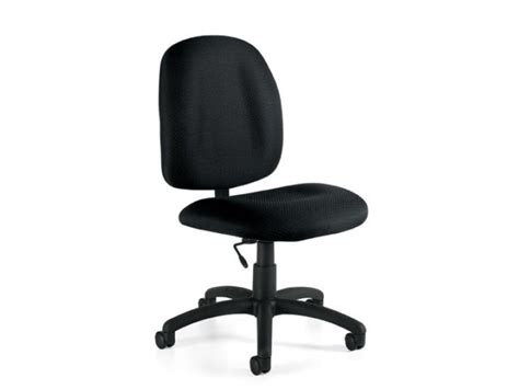 armless fabric task chair otg 1650 computer chairs