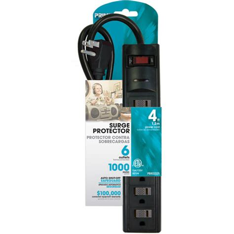 surge protector prime joule outlet cord 1000