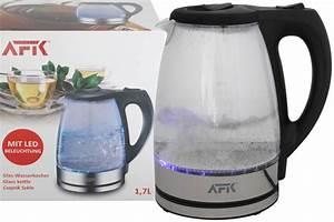 Wasserkocher Mit Led : der hochwertige glas wasserkocher mit led beleuchtung ~ Buech-reservation.com Haus und Dekorationen