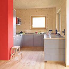 Eine Küche Im Holzhaus  Scandinavian Kitchen