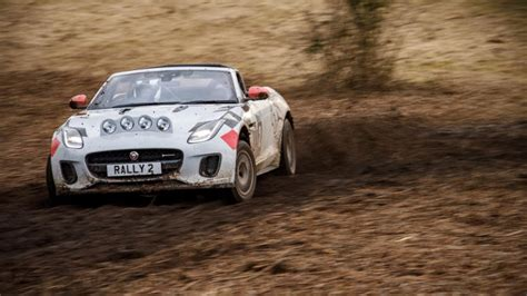 How Did Jaguar Transform The F-type Into A Rally Car?