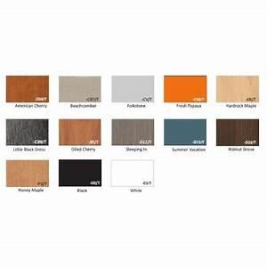 Lyon Lockers Color Chart 24 Quot Wide Laminate Bench With Wood Top Schoollockers Com