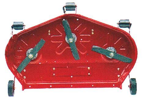 vermont toro 5xi series 42 inch rear discharge mower deck