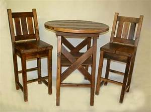 barnwood round pub table rustic furniture mall by timber With barnwood bar table