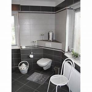 deco salle de bain carrelage gris With carrelage gris salle de bain