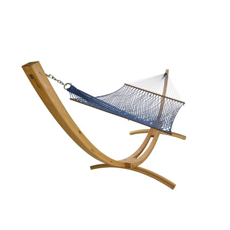 Hammock Wooden Stand by Larch Wooden Arc Hammock Stand Dfohome