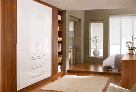 Bedroom White Wardrobes by Unique Wooden Bedroom Wardrobe With White Combination