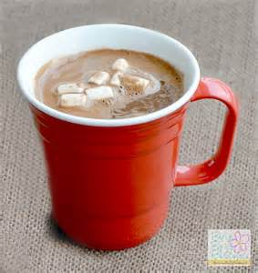 Hot Chocolate Mug with Cup as a Gift