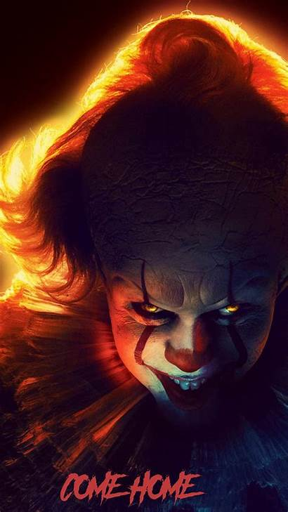 Pennywise Chapter Wallpapers Iphone Scary Laptop Clown