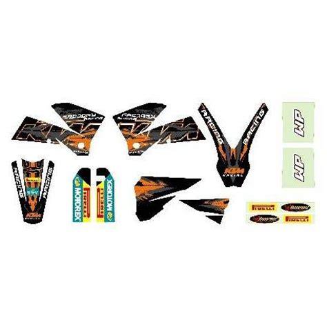 kit deco 125 sx 2003 kit deco black exc 2003 2007 kit deco exc 125 200 250 300 400 450 520 525 2003 2007pour les