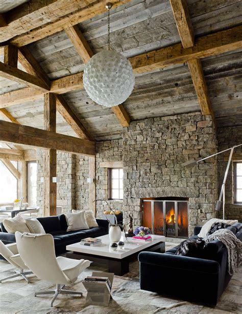 arredare un rustico soggiorno rustico 22 idee per arredare con uno stile