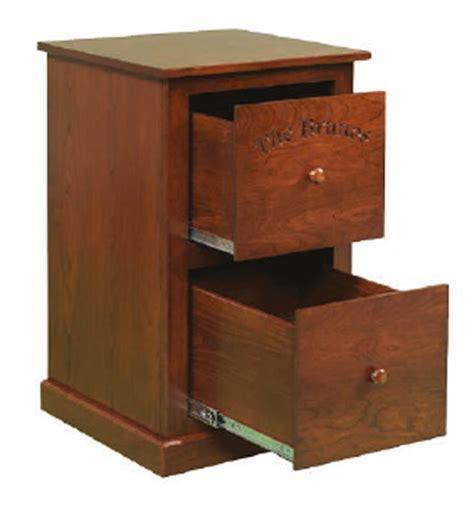 mission file cabinet 4 amish flush two drawer mission file cabinet