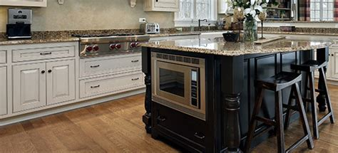 tone kitchens combine light  dark cabinets