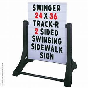 swinger message board sidewalk sign with changeable With sidewalk signs with changeable letters