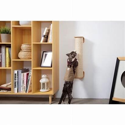 Cat Wall Scratching Mounted Floor Standing Catsplay