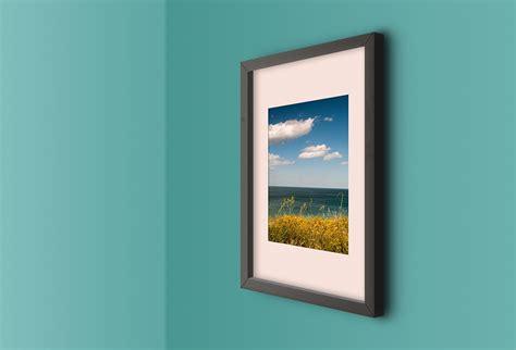 Photo Frames On Wall Template Wall Photo Frame Mockup Free Graphics