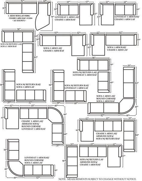Dimensions Of Loveseat by Sectional Sofa Sizes 48 D Sofa And Sectional Sizes Sofa