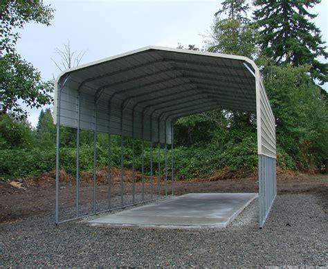 Small Carport Kit by Pre Fab Barns Steel Buildings Carports Garages Rv Ports