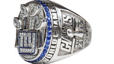 new york giants bowl xlvi ring unveiled big blue view