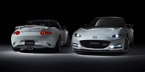 mazda mx 5 tuning 2016 mazda mx 5 gets autoexe styling and tuning package