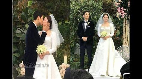 breaking songsong couple wedding song joong ki